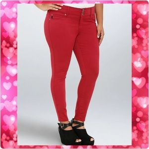 Torrid Red Jeggings - Size 26 - NWT